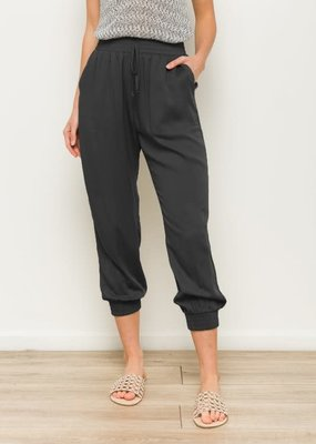 wildflower elastic waist pocket jogger