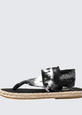 Nalho tie dye yoga mat insole sandals