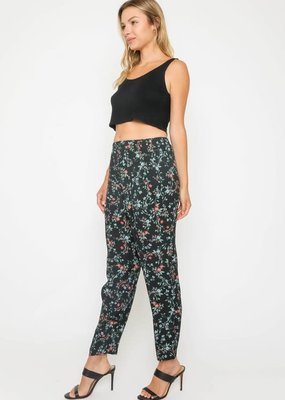 wildflower floral jogger