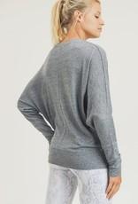 wildflower Super soft dolman long sleeve top