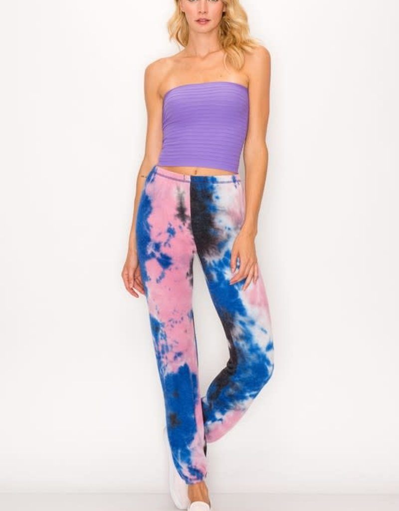 wildflower Tie dye sweatpant supersoft