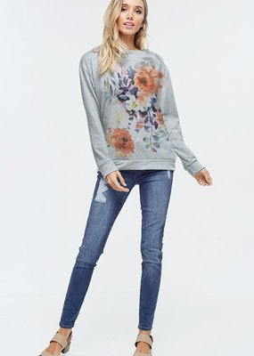 wildflower Blossom long sleeve top