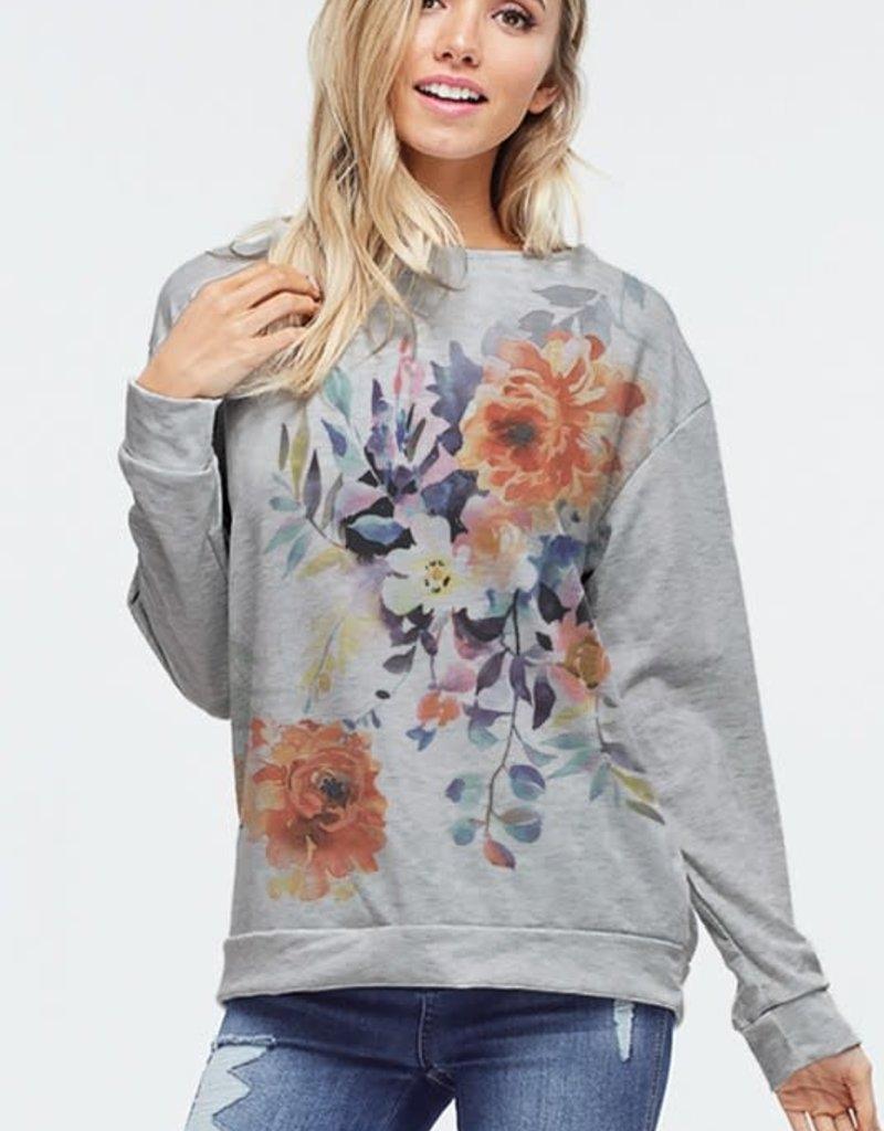 wildflower Blossom long sleeve top
