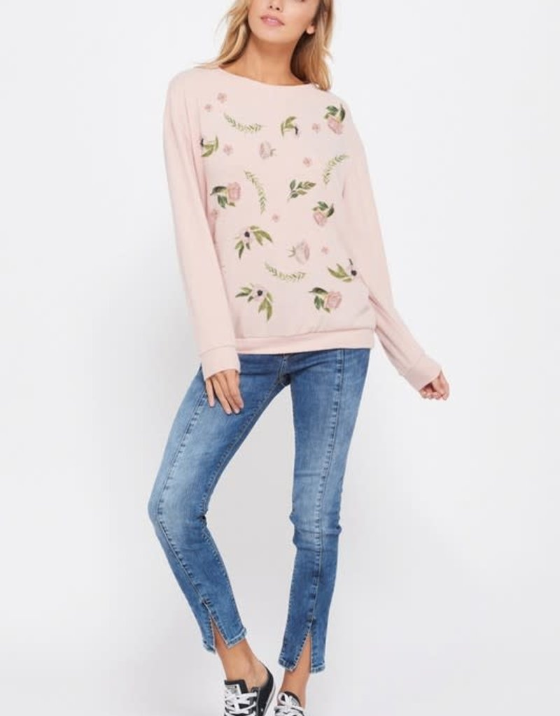 wildflower Mini flower all over sweatshirt