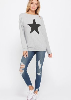 wildflower Big start print sweatshirt