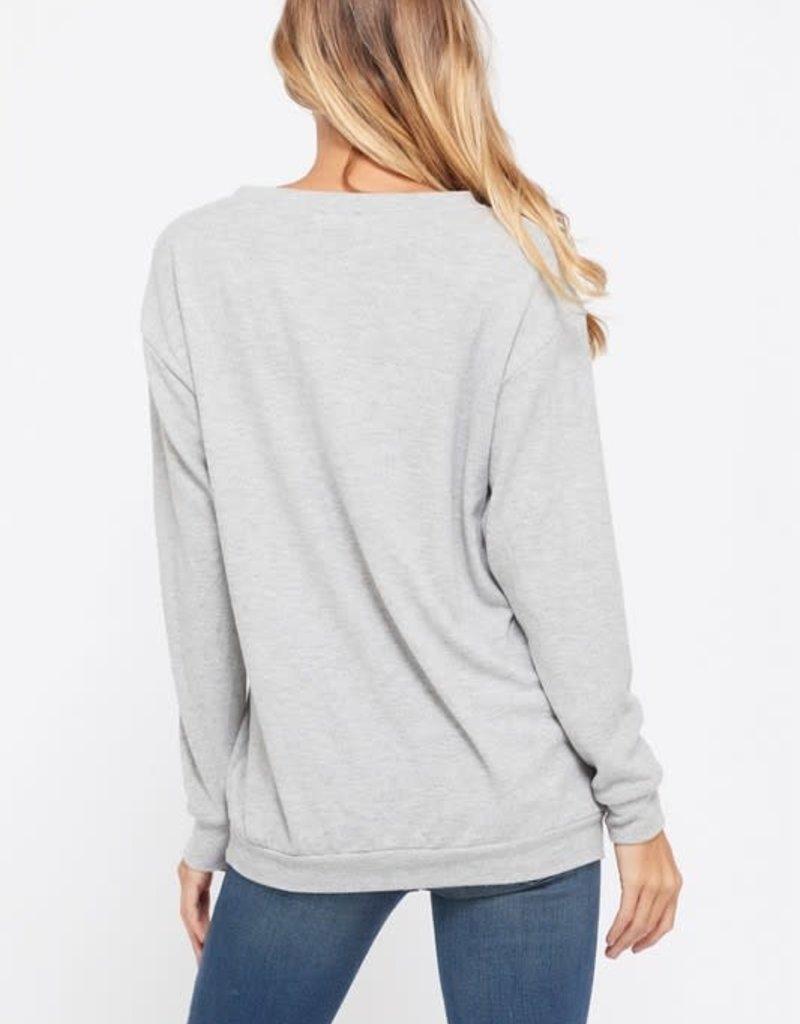 wildflower Big start print sweatshirt