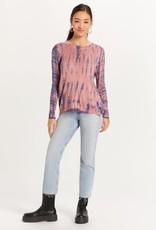 stardust Tie Dye Sweater w/side zips