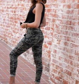wildflower Camo and glitter moto soft jogger
