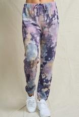 wildflower tie dye jogger