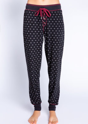 PJ alpine nights fair isle pant