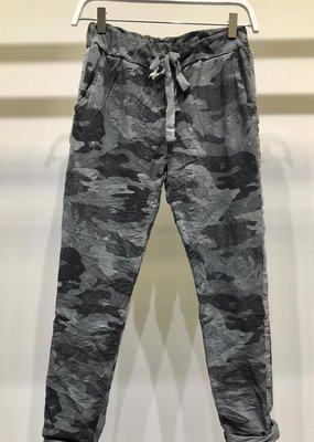 stardust camouflage stars crinkle jogger