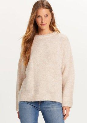wildflower crew neck sweater