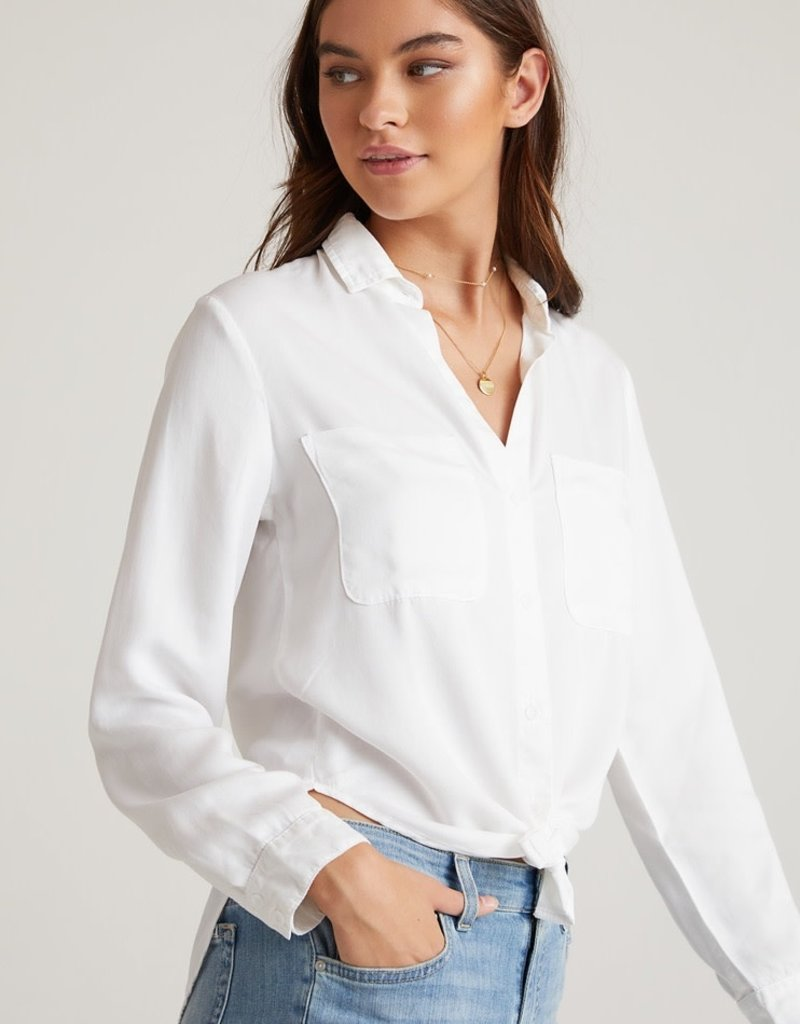 bella dahl pocket flowy button down