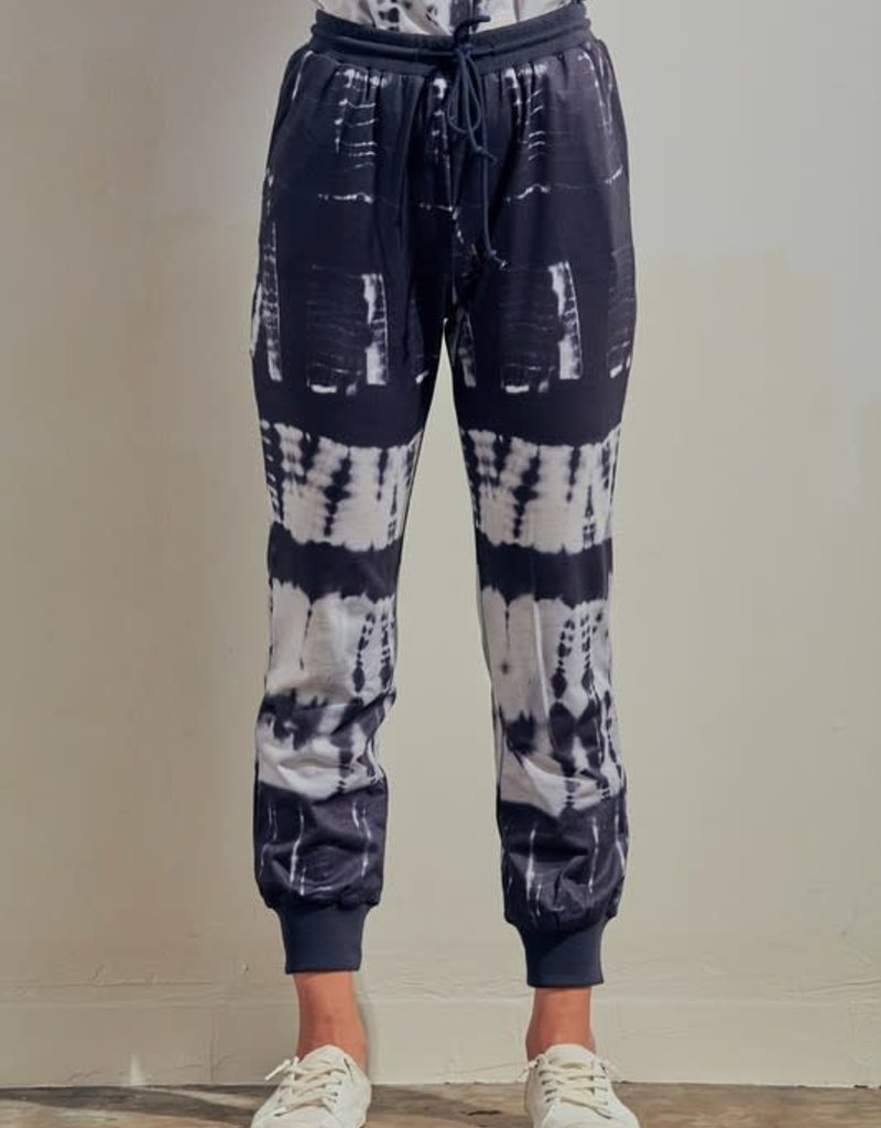 wildflower french terry tie dye joggers