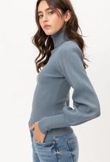 wildflower Ballon sleeve turtleneck sweater