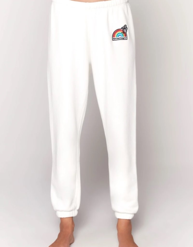 spiritual gangster perfect terry sweatpant (match w/palm finn zip hoodie)