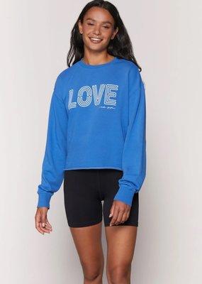 spiritual gangster love mazzy pullover sweatshirt