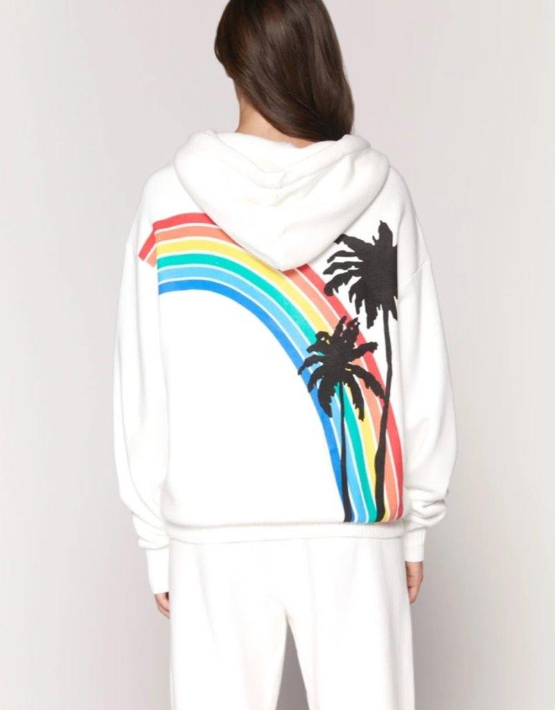 spiritual gangster palm finn zip hoodie (match w/perfect terry pant)