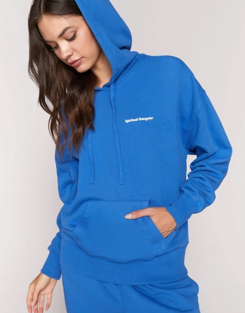spiritual gangster kindness phoebe oversized hoodie (match w/perfect terry pant)
