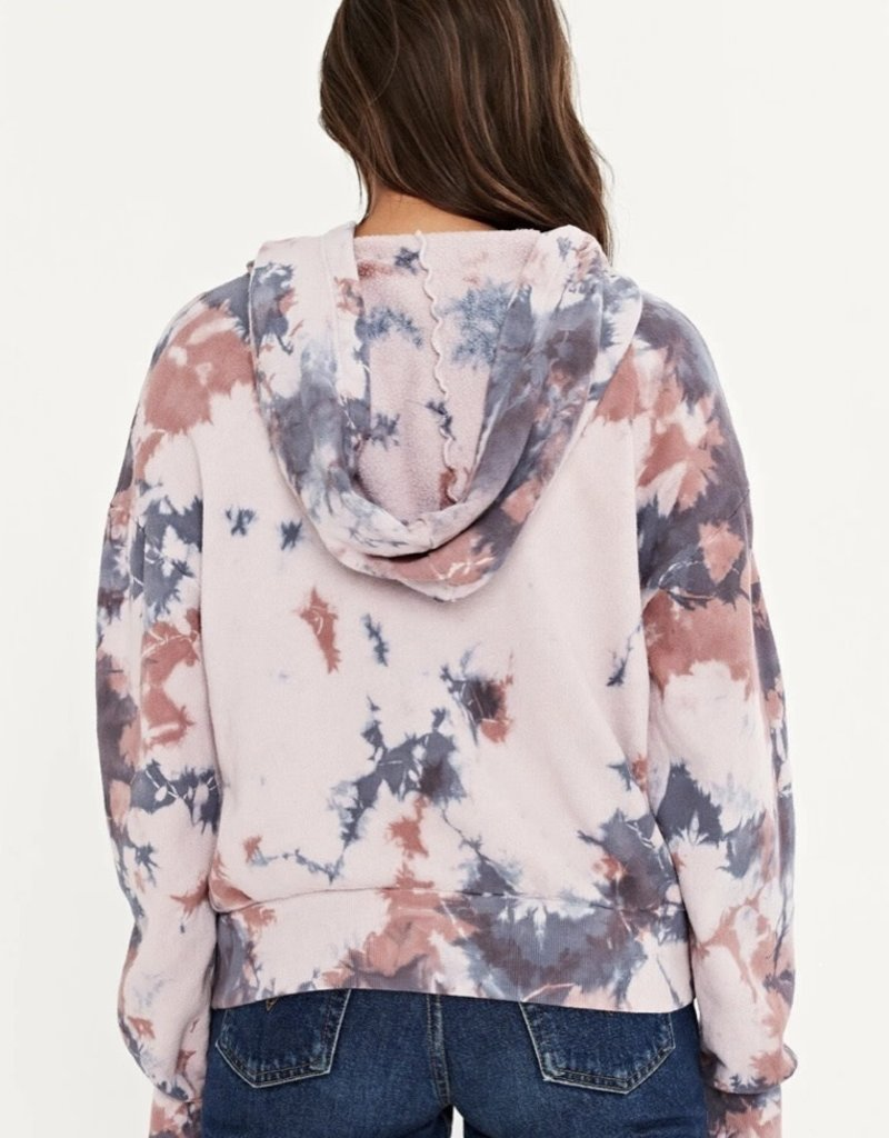 project social t seasons change tie dye hoody