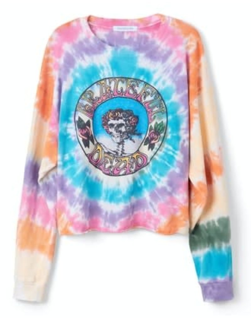 daydreamer grateful dead tie dye l/s top