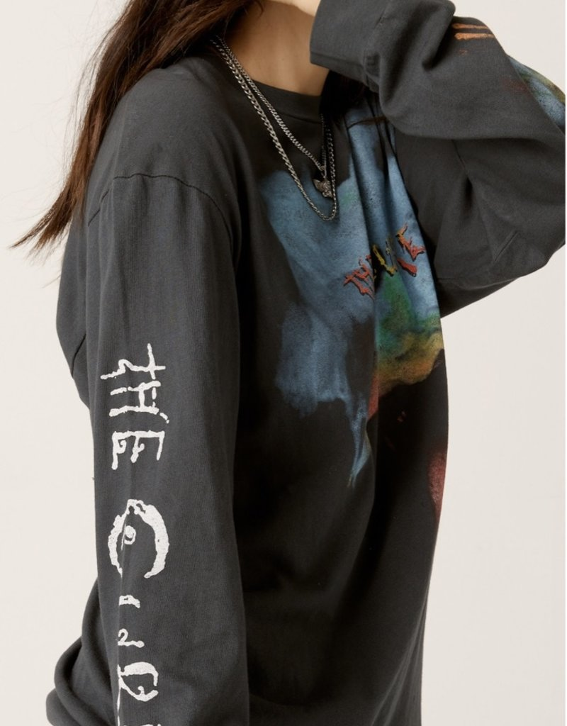daydreamer the cure head on the door oversized l/s tee