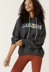 daydreamer sunset strip 66 oversized hoodie