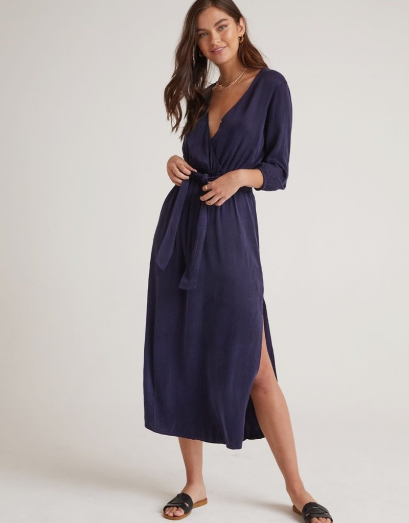 bella dahl cross front belted maxi dress