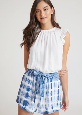 bella dahl ruffle high waist short