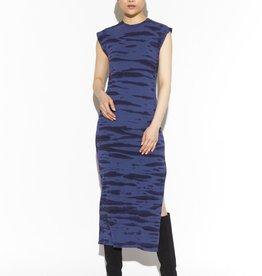 yana tiger tie dye sleeveless long dress