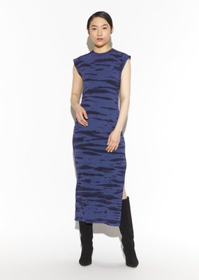 yana tiger tie dye sleeveless long dress