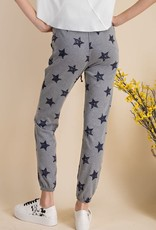 wildflower star printed comfy jogger