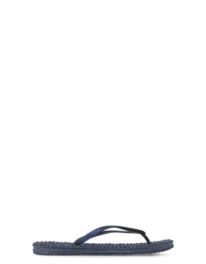 Ilse Jacobsen cheerful flip flop glitter navy