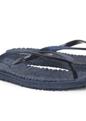 Ilse Jacobsen cheerful flip flop glitter navy