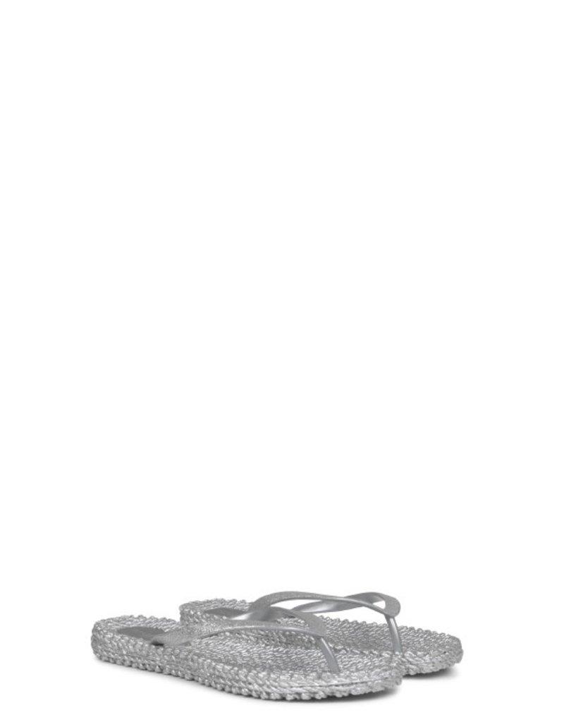 Ilse Jacobsen cheerful flip flop glitter silver