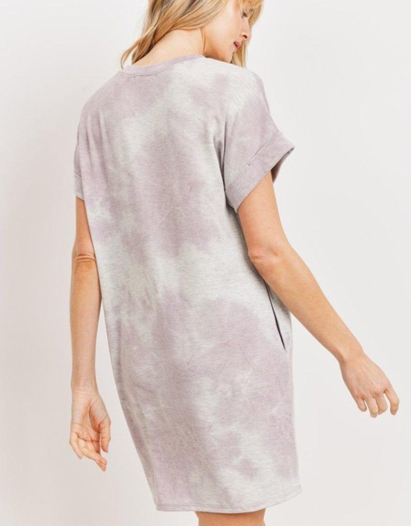 wildflower tie dye pocket dress