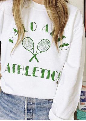 wildflower palo alto athletics sweatshirt