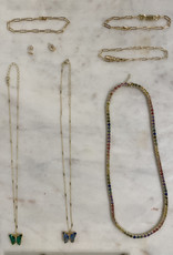 paperclip bracelet 6.5 inch - 14k gold filled