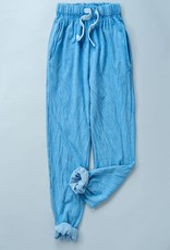 wildflower garment dye washed french terry jogger