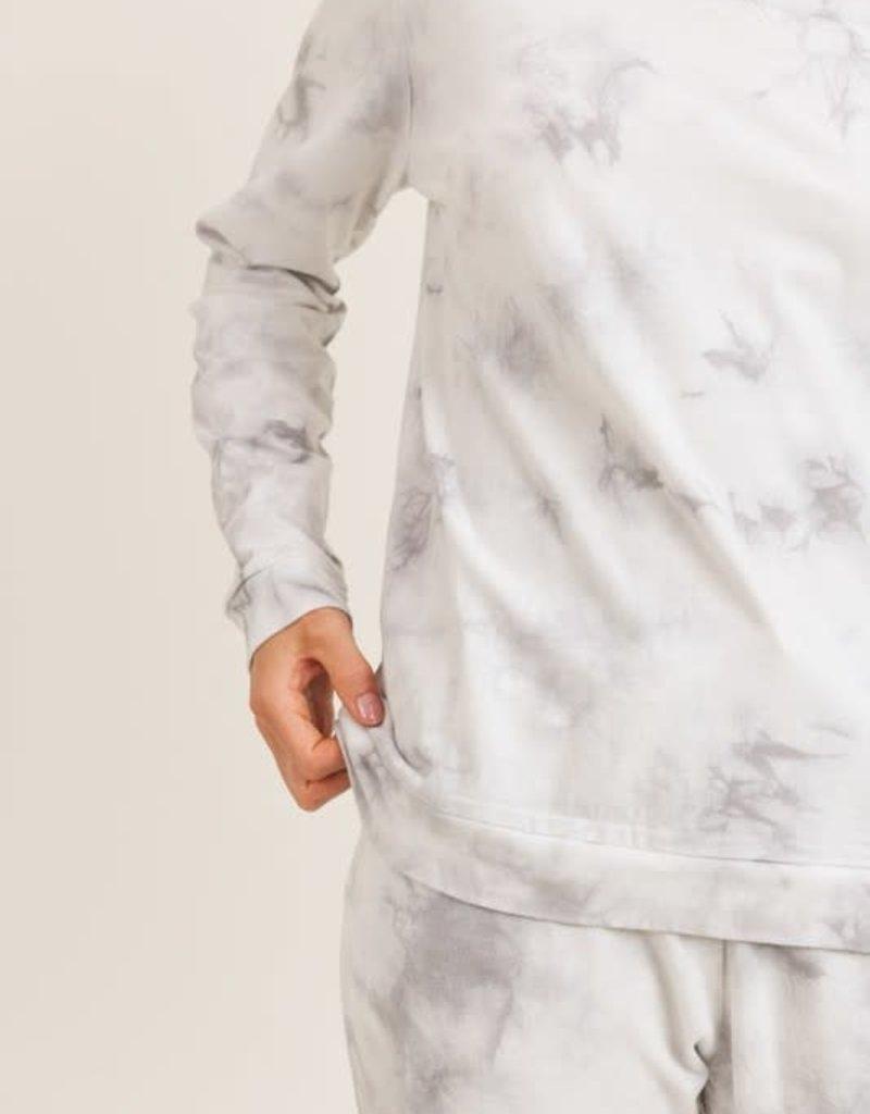 wildflower moon dust tie dye sweat set