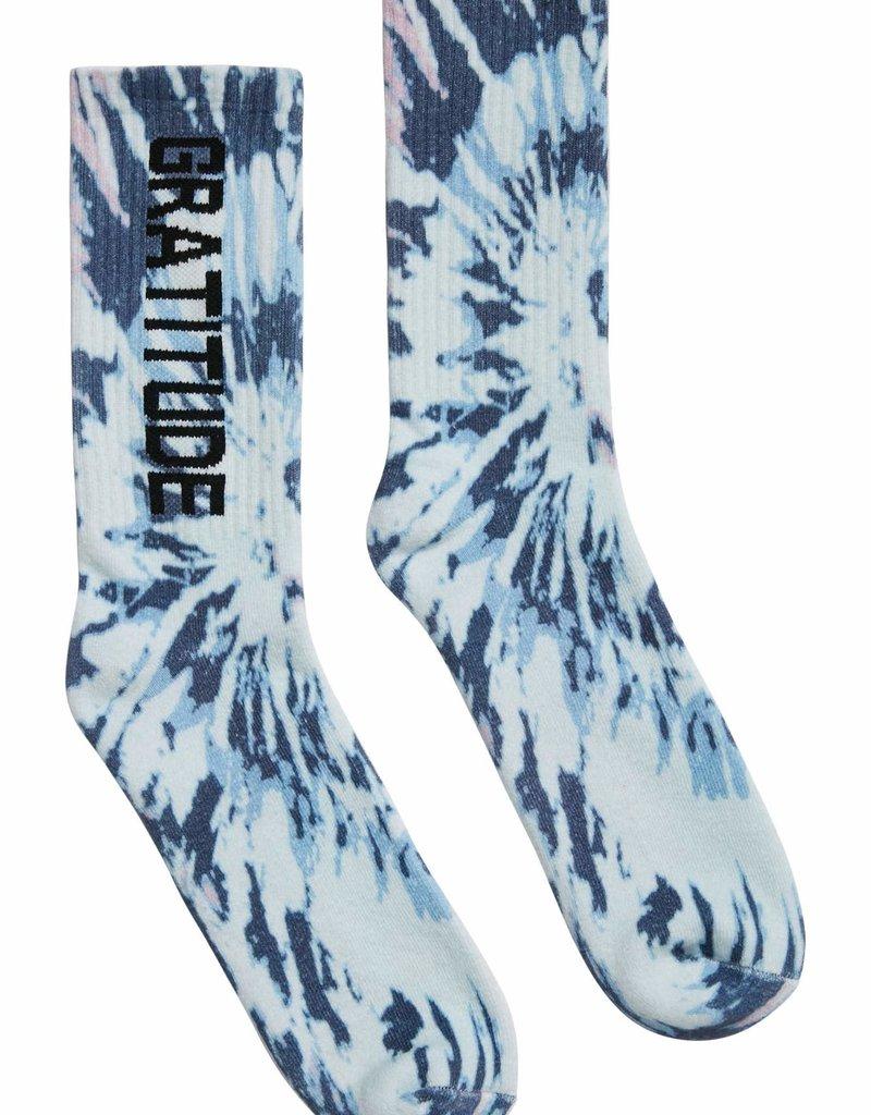spiritual gangster Gratitude Sock