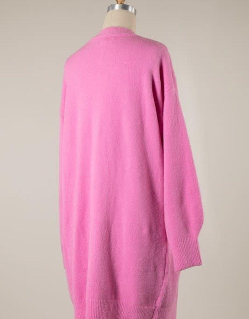 stardust Puff Sleeve Super Soft Cardigan