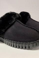 Ilse Jacobsen tulip faux fur slippers