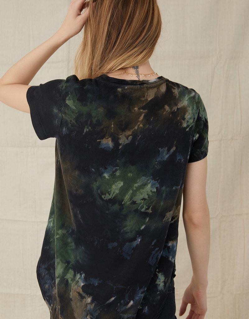 bella dahl short sleeve v-neck tee shirt