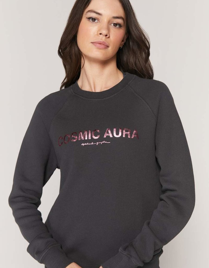 spiritual gangster cosmic old school terry sweatshirt