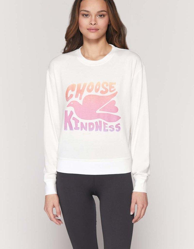spiritual gangster Kindness crew neck savasana sweatshirt