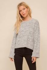 stardust Tri Tone Crewneck Sweater