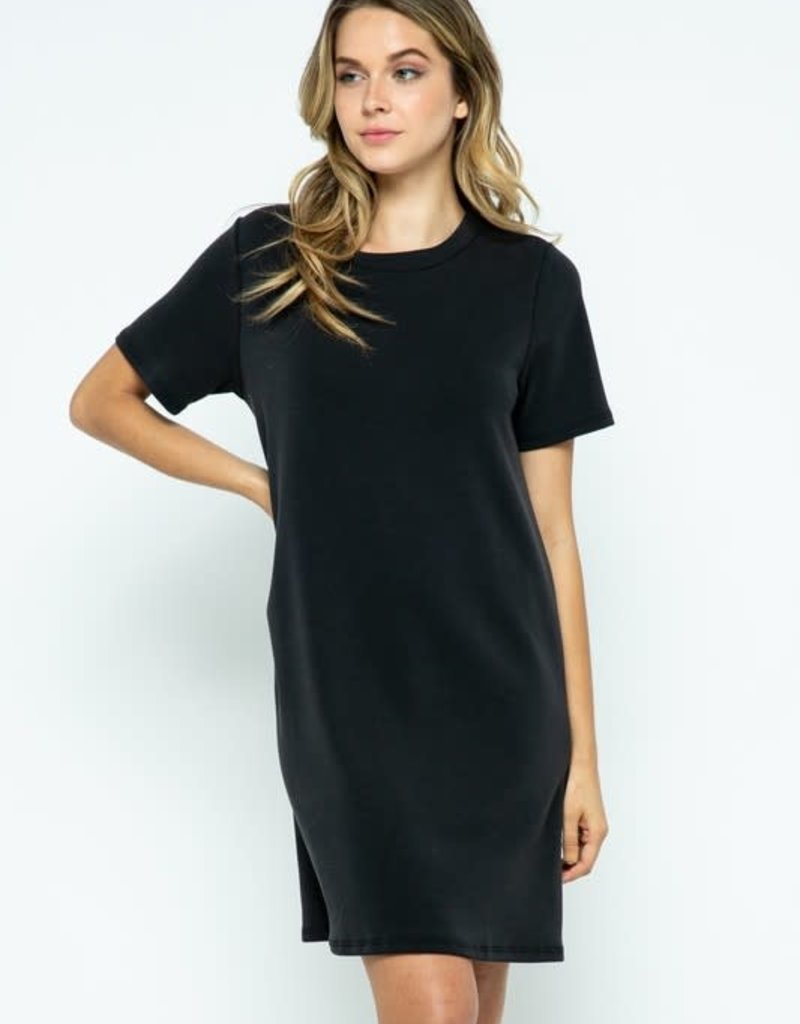 stardust Techno Modal Double Knit Dress