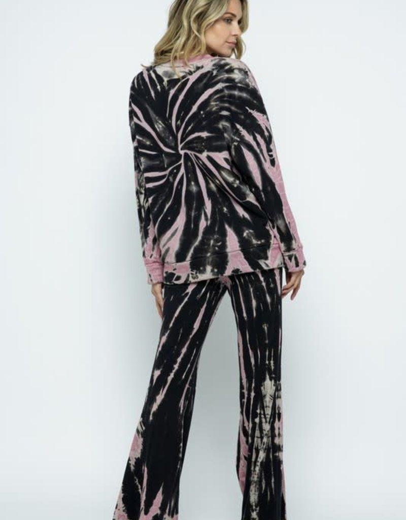 stardust French Terry Tie Dye Swirl Sweatshirt