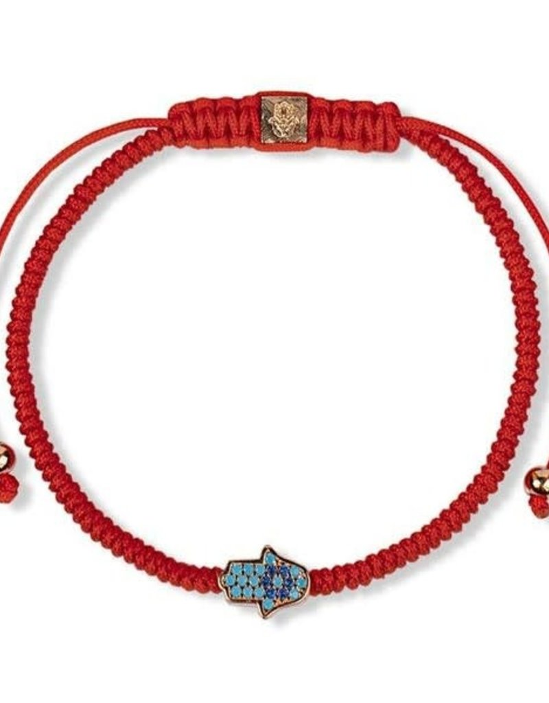 karma & luck Hamsa Charm Red String Protection Bracelet